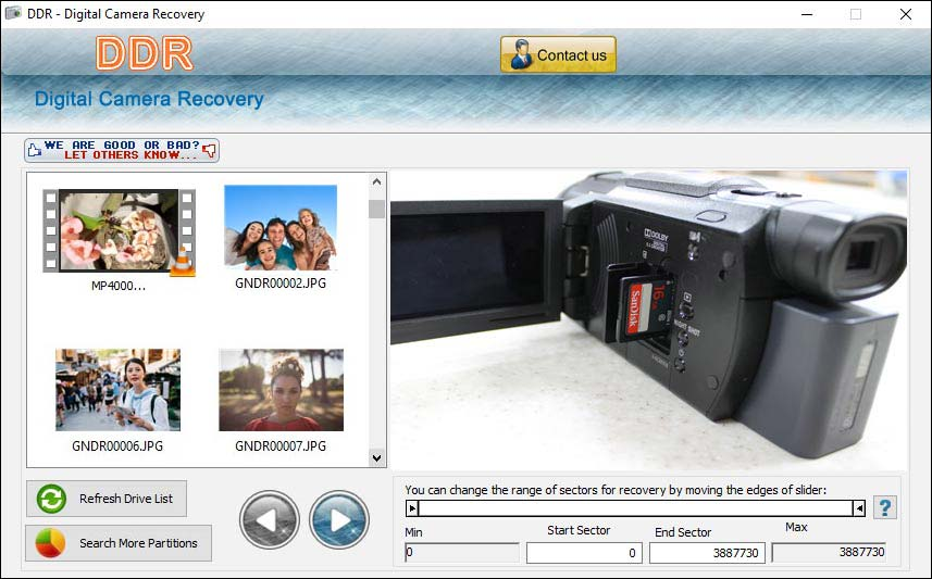 Windows 7 Data Doctor Recovery Digital Camera 3.0.1.5 full