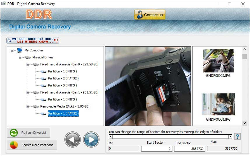 Digital Camera Recovery 4.0.1.6 full